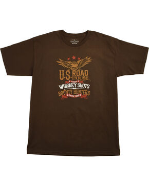 Cody James® Men's Road House Short Sleeve Graphic Tee, Black, hi-res