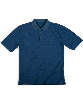 Wrangler Men's Navy Riggs Workwear Polo , Navy, hi-res
