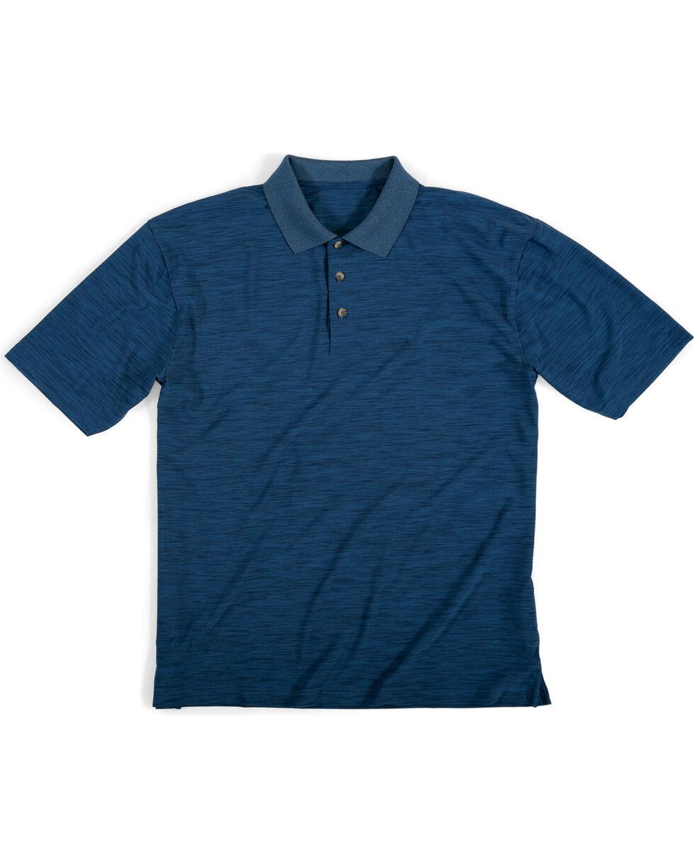 Wrangler Men's Navy Riggs Workwear Polo , Navy, hi-res