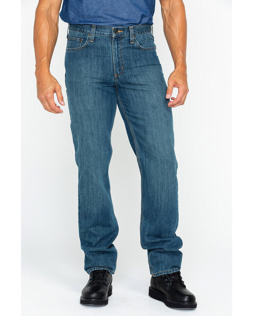 Carhartt Men's Elton Straight Leg Jeans, Denim, hi-res