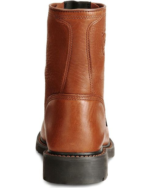 Ariat Men's Cascade Steel Toe Work Boots, Bronze, hi-res