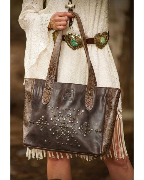 STS Ranchwear Tribal Tote , Dark Brown, hi-res