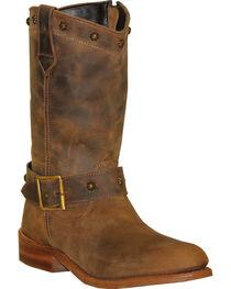 """Sage Women's 10"""" Strap & Buckle Wellington Boots, , hi-res"""