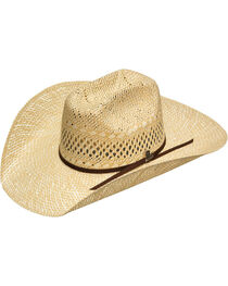 Ariat Natural Twisted Weave Hat , , hi-res