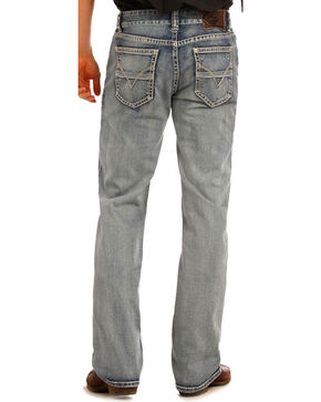 Rock & Roll Denim Men's Re-Flex Double Barrel Straight Leg Jeans, Indigo, hi-res