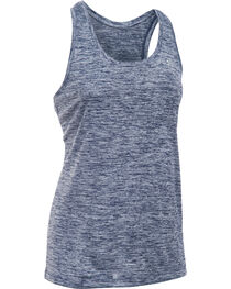 Under Armour Women's Navy Tech™ Twist Tank Top, , hi-res