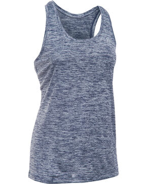 Under Armour Women's Navy Tech™ Twist Tank Top, Navy, hi-res