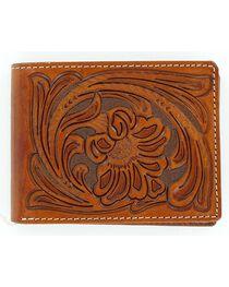 Nocona Tooled Bi-Fold Wallet, , hi-res