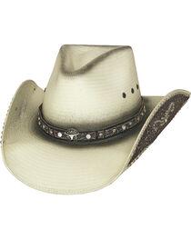 Bullhide Hats Women's Lose My Mind Straw Cowboy Hat, , hi-res