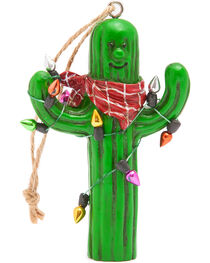 BB Ranch® Light Wrapped Cactus Ornament, , hi-res