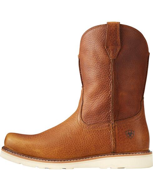 Ariat Men's Rambler Recon Brown Work Boots - Square Toe, Brown, hi-res