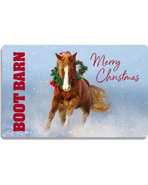 Boot Barn Christmas Horse eGift Card, No Color, hi-res