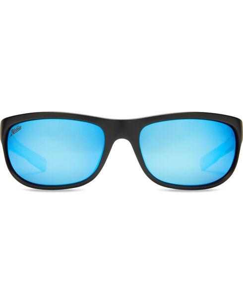 Hobie Men's Cobalt Blue Mirror and Satin Black Polarized Cruz Sunglasses  , Black, hi-res