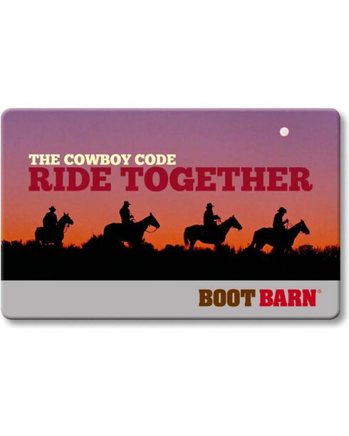 Boot Barn® The Cowboy Code eGift Card, No Color, hi-res