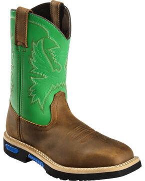 Cinch Men's Rod Patrick Master Grader Western Work Boots, Brn Bomber, hi-res