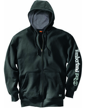 Timberland Men's Pro Hood Honcho Full Zip Hoodie , Black, hi-res