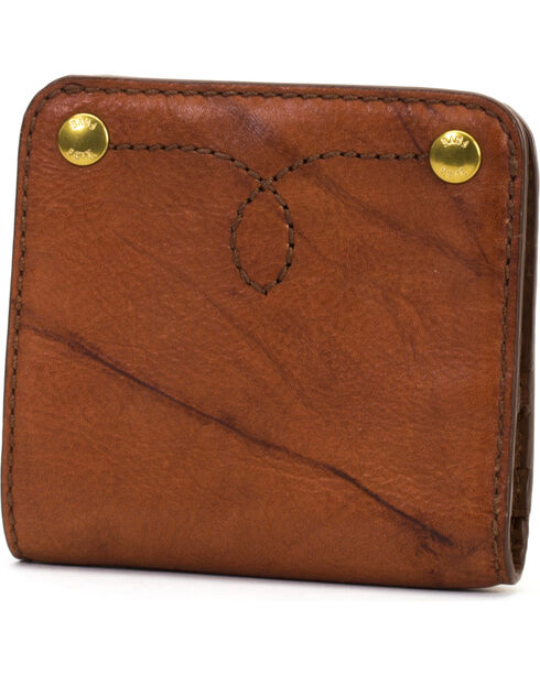 Frye Women's Small Campus Rivet Leather Wallet , , hi-res