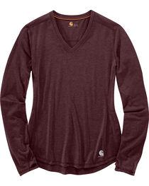 Carhartt Women's Force Ferndale Long Sleeve T-Shirt , , hi-res