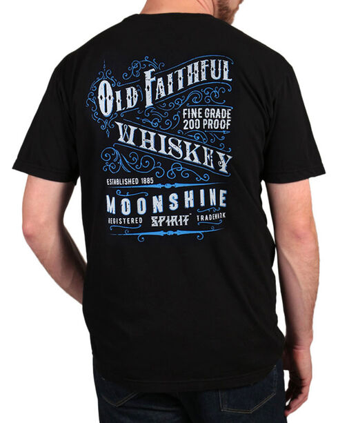 Moonshine Spirit® Men's Old Faithful T-Shirt, Black, hi-res