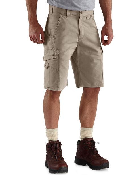 Carhartt Ripstop Cargo Work Shorts, Desert, hi-res