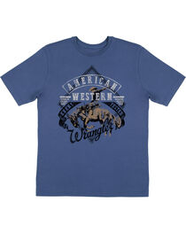 Wrangler Boys' American Western Short Sleeve T-Shirt, , hi-res