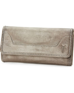 Frye Women's Melissa Wallet , Grey, hi-res