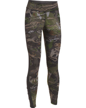 Under Armour Women's Camo Merino Wool Base Leggings , Camouflage, hi-res