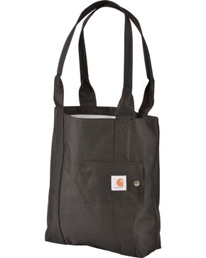 Carhartt Legacy Women's Black Essential Tote, Black, hi-res