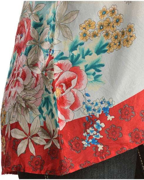 Johnny Was Women's Poe Printed Silk Top, Print, hi-res
