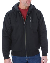 Wrangler RIGGS Workwear Men's Utility Jacket, Black, hi-res