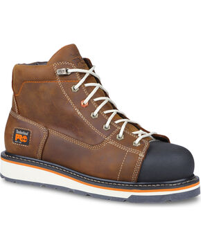 Timberland Men's Grindworks Waterproof Work Boots, Brown, hi-res