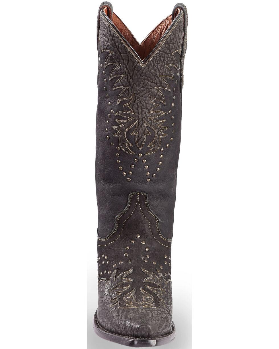 "Dan Post Women's 13"" Invy Western Boots, Black, hi-res"