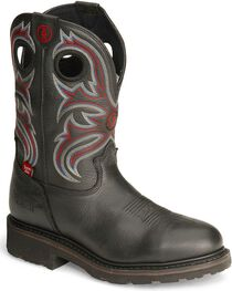 Tony Lama Men's Signature H20 Steel Toe Western Work Boots, , hi-res