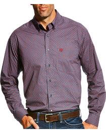 Ariat Men's Anniston Print Long Sleeve Button Down Shirt, , hi-res