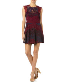 Miss Me Sleeveless Lace Dress, , hi-res