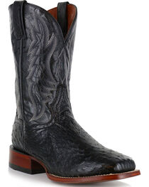 Dan Post Men's Ostrich Square Toe Exotic Boots, , hi-res