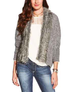 Ariat Women's Maxwell Sweater, Grey, hi-res