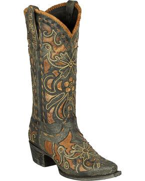 Lane Women's Robin Western Fashion Boots, Brown, hi-res