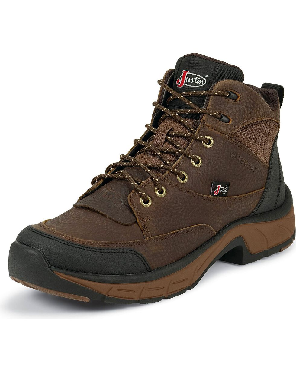 Justin Women's Waterproof Stampede Casual Work Boots, , hi-res
