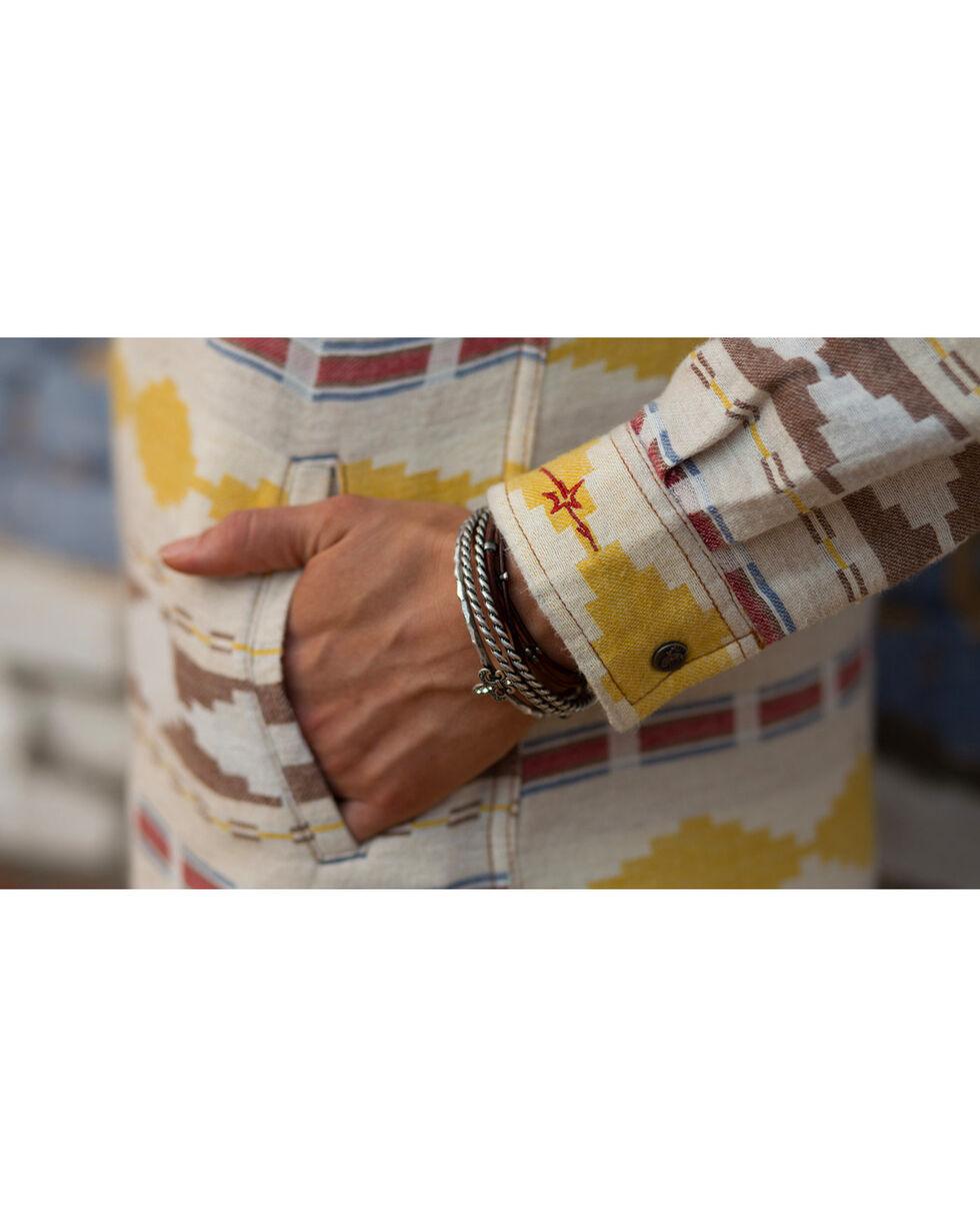 Ryan Michael Women's Blanket Jacquard Dress , Ivory, hi-res