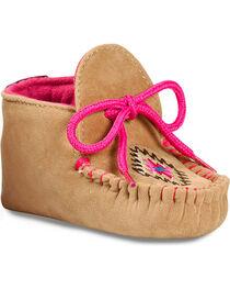 Blazin Roxx Infant Girls' Kendra Baby Bucker Booties - Moc Toe, , hi-res
