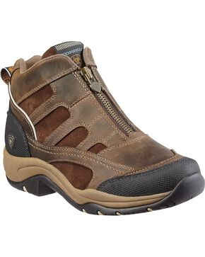 Ariat Women's Terrain H2O Outdoor Boots, Brown, hi-res