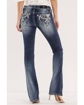 Miss Me Women's Dream Big Mid-Rise Jeans - Boot Cut, Indigo, hi-res