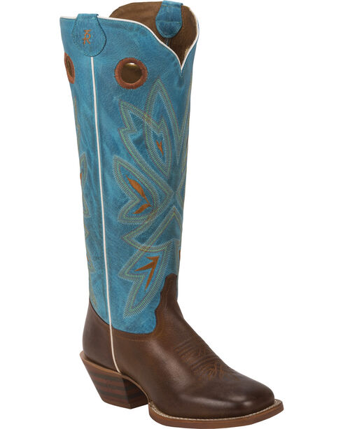 Tony Lama Women's 3R Buckaroo Western Boots, , hi-res