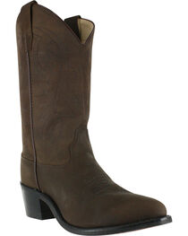 Cody James Youth Boys' Brown Distressed Western Boots - Pointed Toe , , hi-res