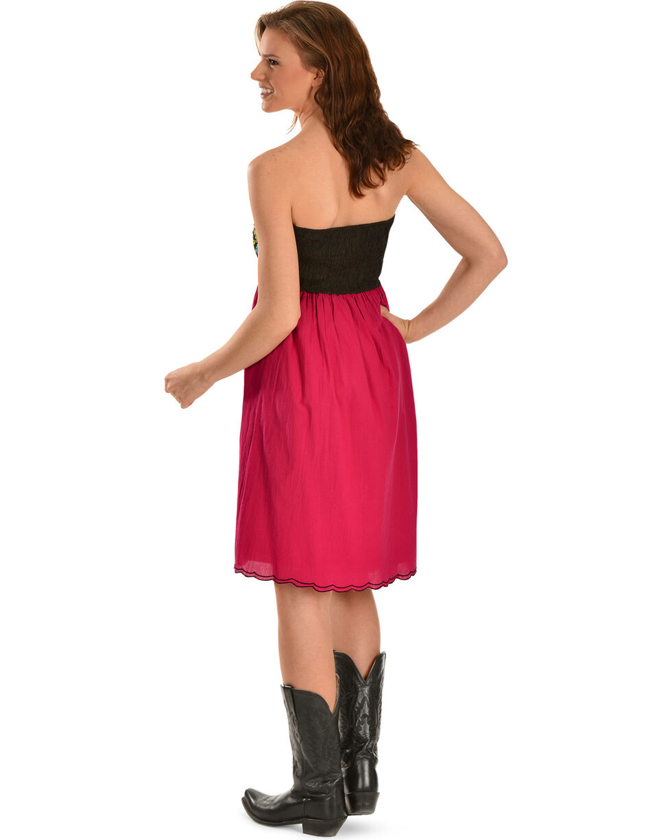 R Cinco Ranch Driscoll Pink Embroidered Dress, Pink, hi-res