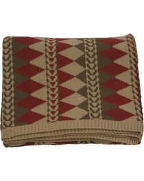 HiEnd Accents Wilderness Ridge Knitted Throw, , hi-res