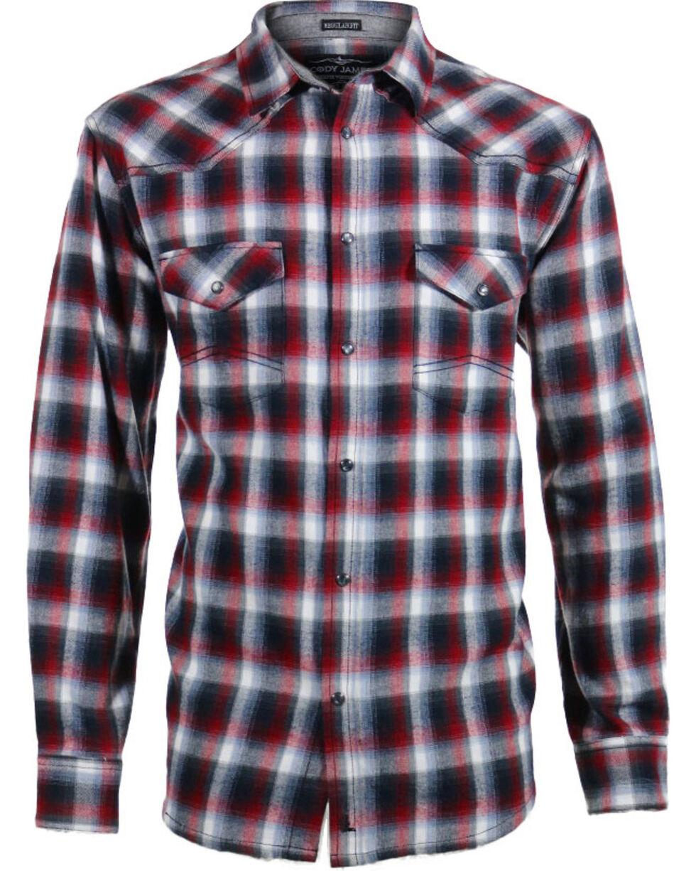 Cody James® Men's Castle Creek Plaid Long Sleeve Flannel, , hi-res