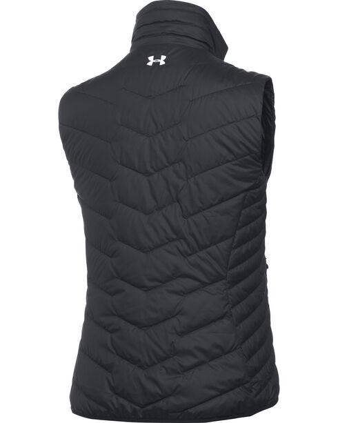 Under Armour Women's UA ColdGear Reactor Vest, Black, hi-res