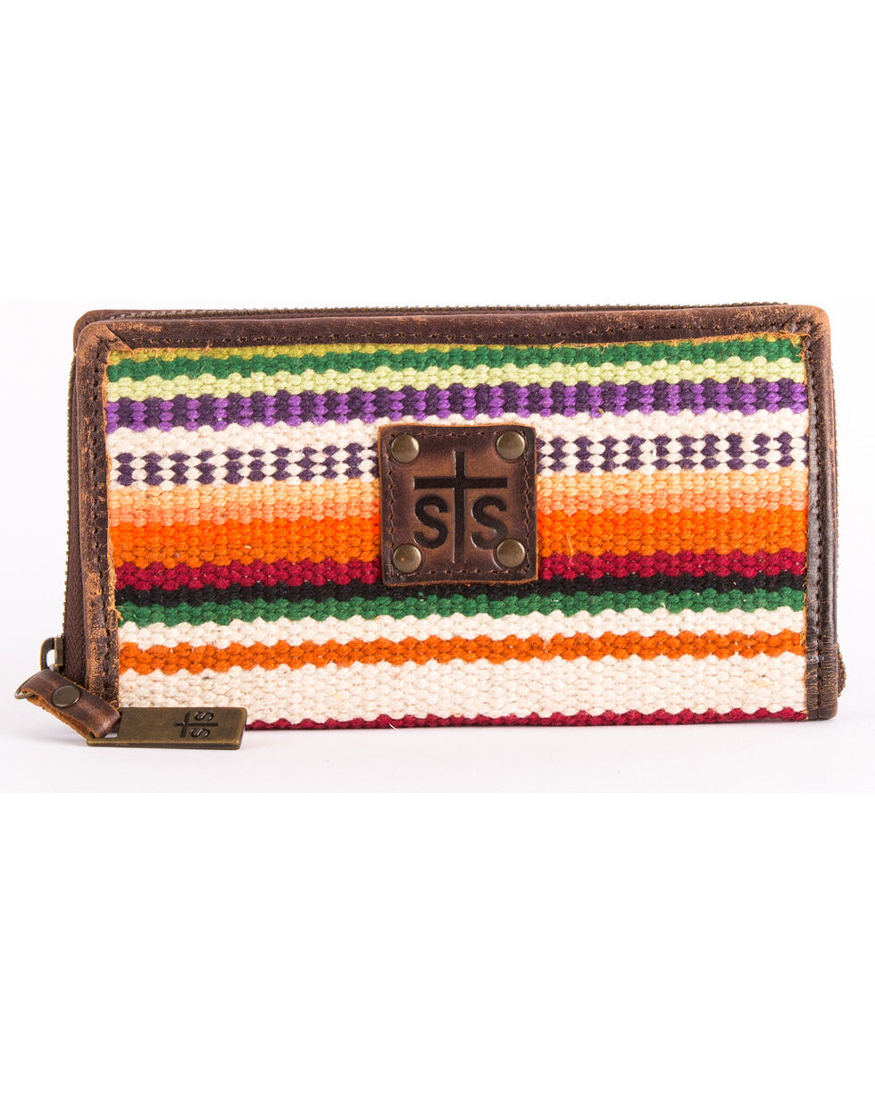 STS Ranchwear by Carroll Women's Tularosa Bi-Fold Wallet , Multi, hi-res